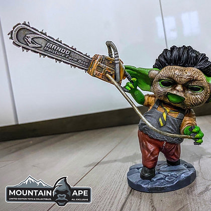 Baby Leatherface Statue