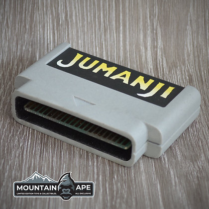 Jumanji Video Game Cartridge