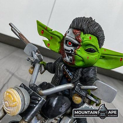 Baby Terminator Mashup Statue