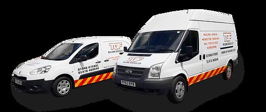 TGF Building Services LTD Vans