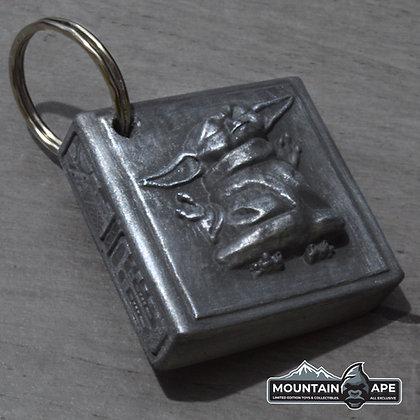 Baby Yoda in Carbonite Keychain