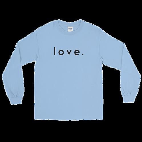 LOVE. long sleeve t-shirt [Baby Blue]