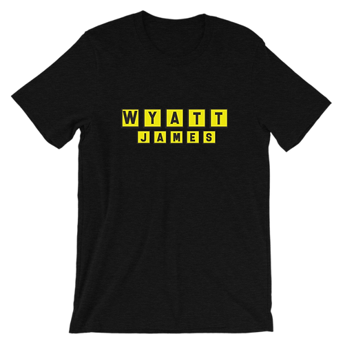 Wyatt House t-shirt [Heather Black]