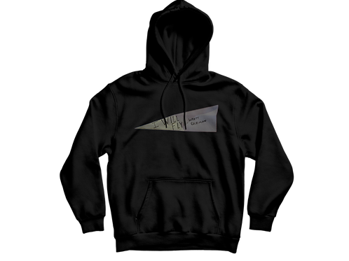 I Will Fly Hoodie [Black]
