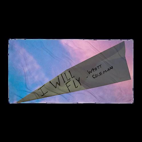 I Will Fly Towel