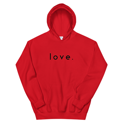 Love. Hoodie [Red]