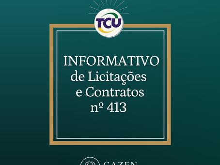 Informativo TCU nº 413