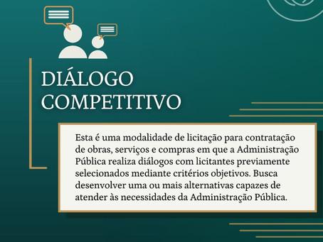 Saiba mais sobre a modalidade de licitação: Diálogo Competitivo