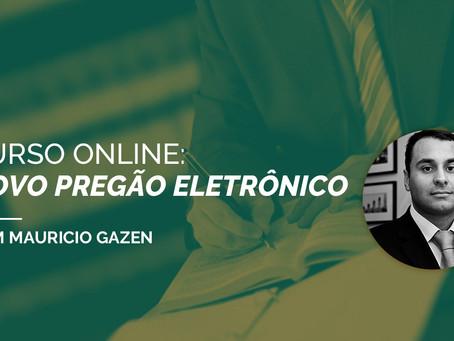 CURSO ONLINE: NOVO PREGÃO ELETRÔNICO
