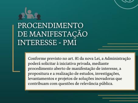 Procedimento de Manifestação Interesse - PMI