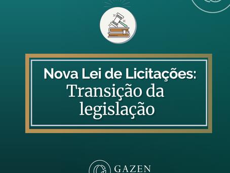 Transição da legislação