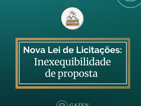Inexequibilidade de proposta