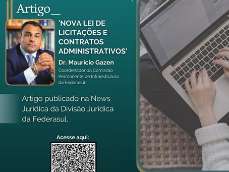 Artigo: Nova Lei de Licitações e Contratos Administrativo