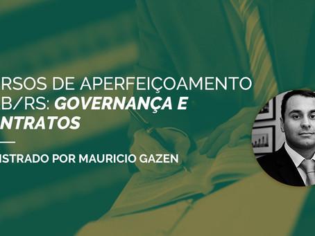 CURSO DE APERFEIÇOAMENTO OAB/RS: GOVERNANÇA E CONTRATOS
