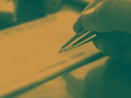 Dispensa de endosso das garantias em contrato paralisado