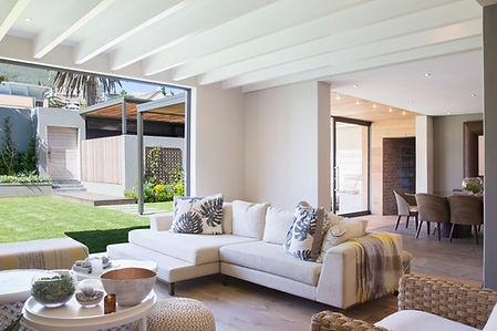 SofaReupholstery in luxury vila