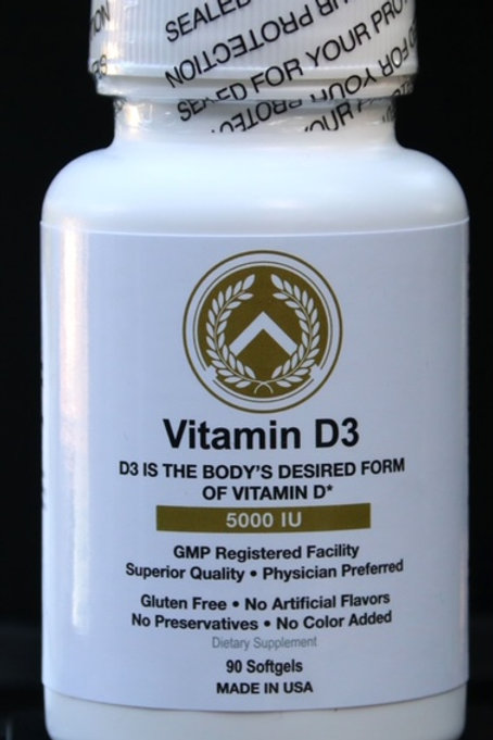 IMMUNOTRITION VITAMIN D3 5000IU