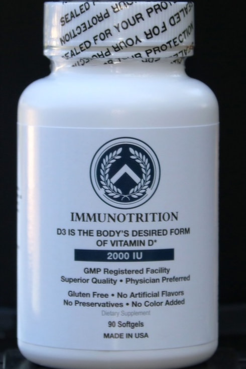 IMMUNOTRITION VITAMIN D3 2000IU