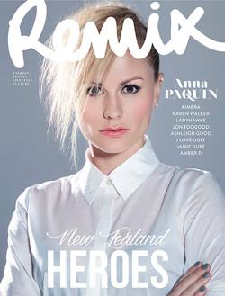 Anna Paquin Cover