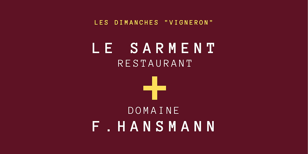 "Menu Vigneron ""F. Hansmann"""