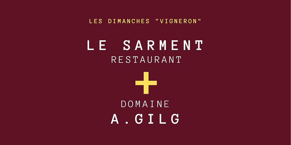 "Menu Vigneron ""A. Gilg"""
