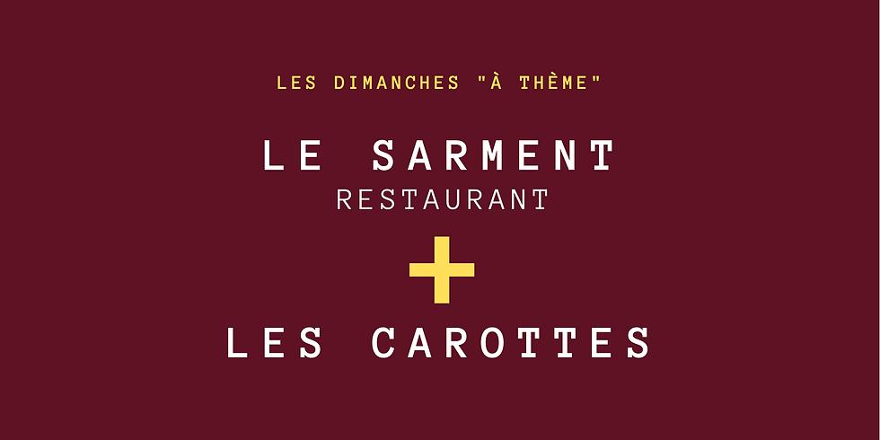 """Menu """"Les Carottes"""""""