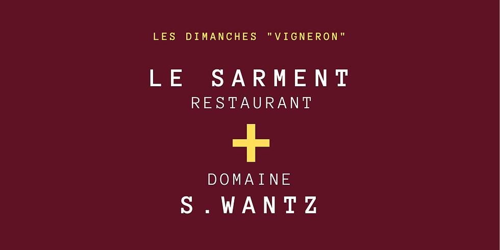 "Menu Vigneron ""S. Wantz"""