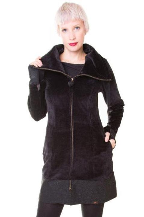 Veste noire 100% Coton
