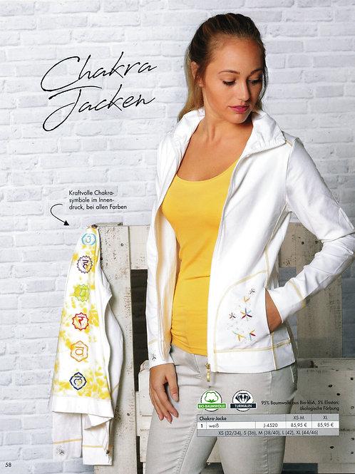 chakra veste blanc