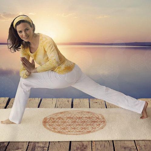 tapis de yoga fleur de vie