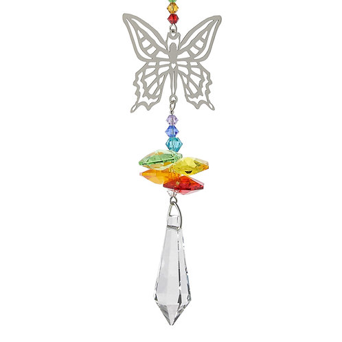 Fantaisie de Cristal Fée Papillon