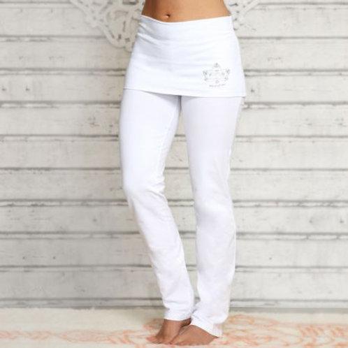 pantalon de yoga avec jupe