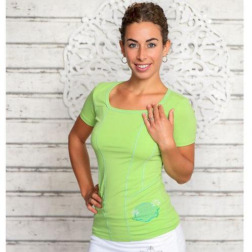 yoga top vert kiwi