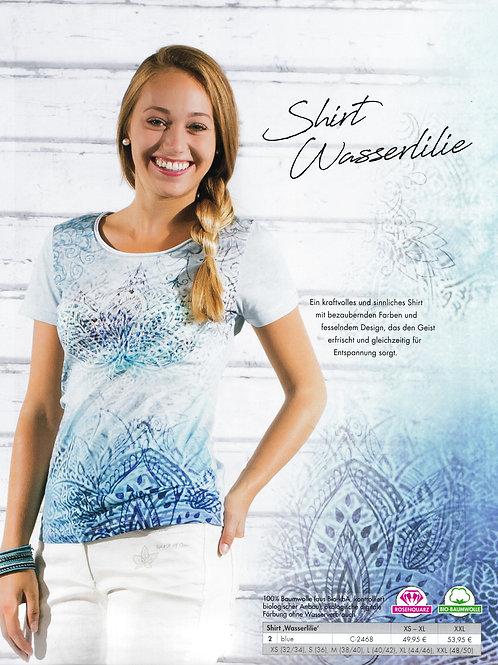 t-shirt femme nénuphar