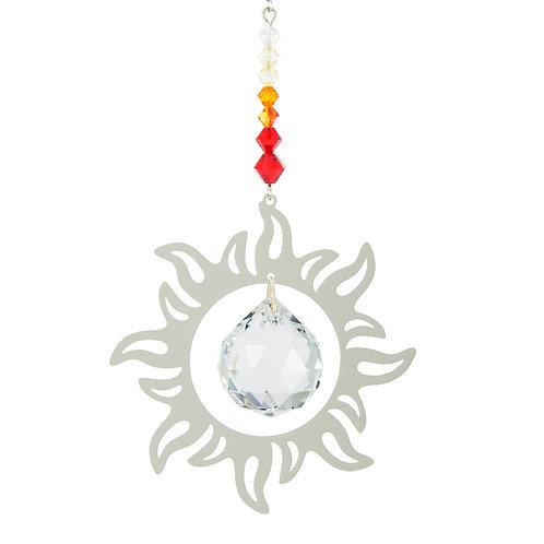 Cascade de Cristal Soleil Radieux