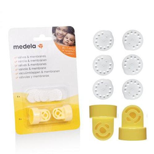 Pack - 2 válvulas e 6 membranas