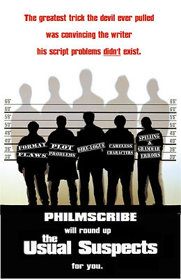 Philmscribe will round up The Usual Suspects