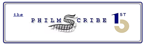 the PHILMSCRIBE 1st 5 logo with border 2