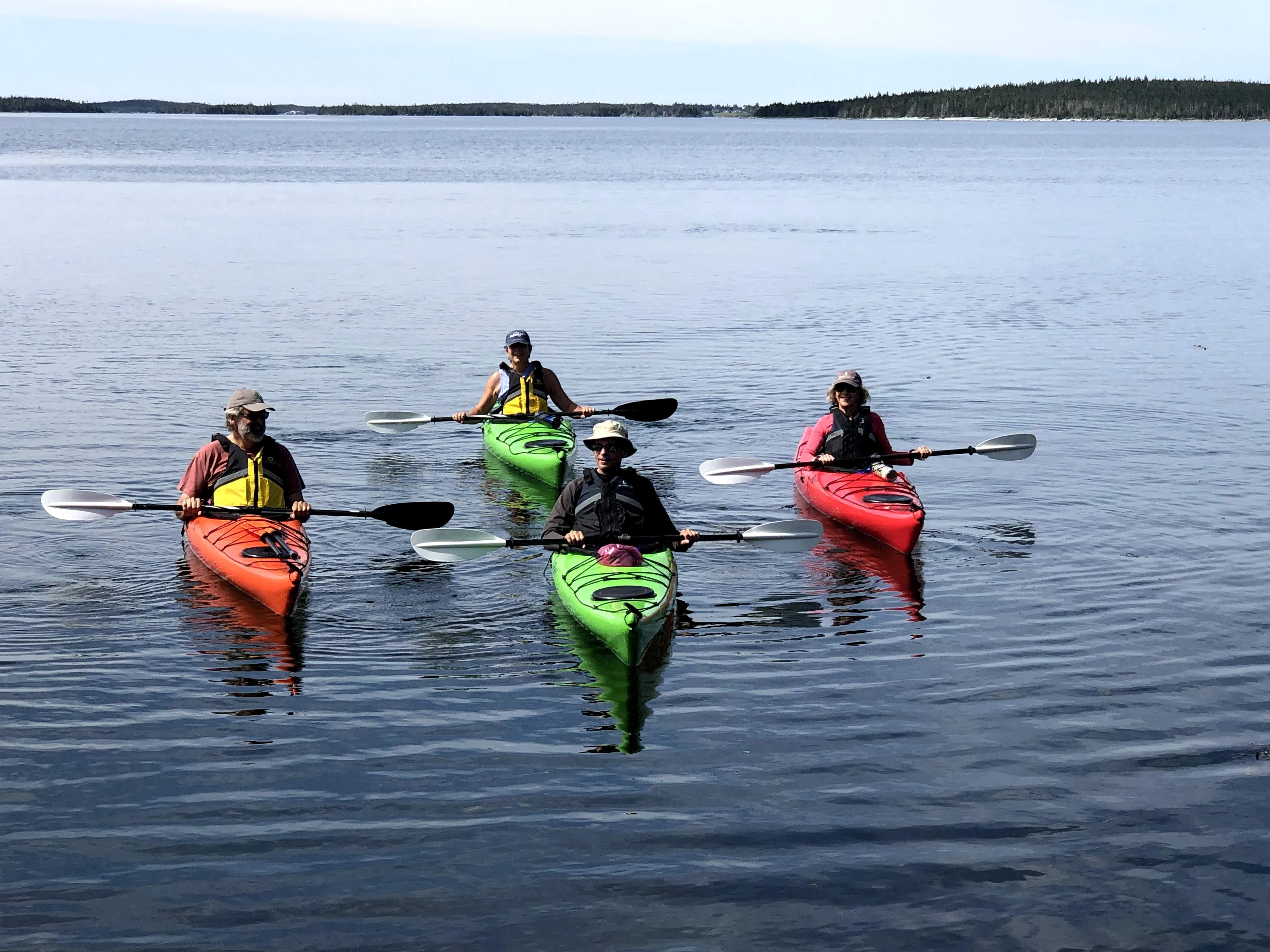 sea kayaks, Wild Islands, kayaks, rental kayak, kayak tour, Nova Scotia