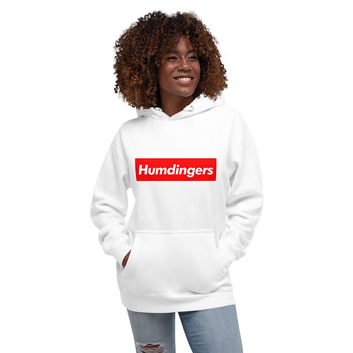 Humdingers Superb Unisex Hoodie (White)
