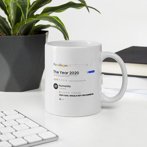 """""""2020 Review"""" Mug"""