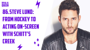 86. Steve Lund: From Hockey to Acting On-Screen  with Schitt's Creek