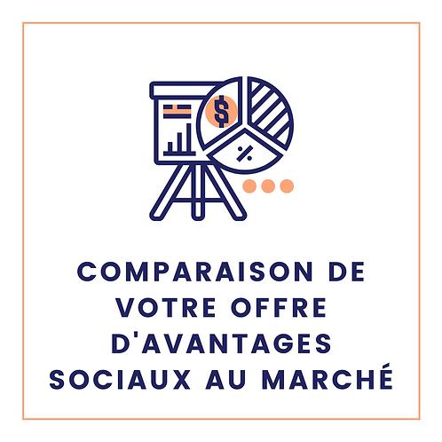 Comparaison de vos avantages sociaux au marché