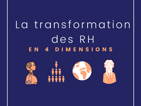 Transformation des RH : en 4 dimensions