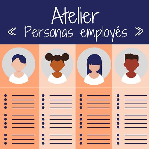 Définissons vos personas employés