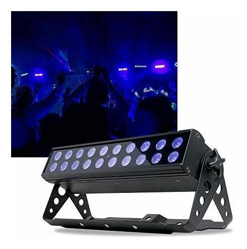 LUZ NEGRA UV LED BAR 20