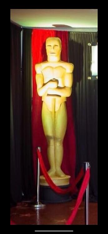 Estatuilla Oscars 2.5 mts