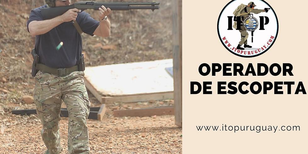 Curso  de Operador de Escopeta