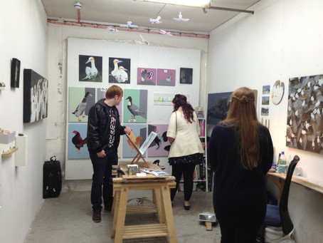 This weekend the studios are open for visitors! 29th & 30th