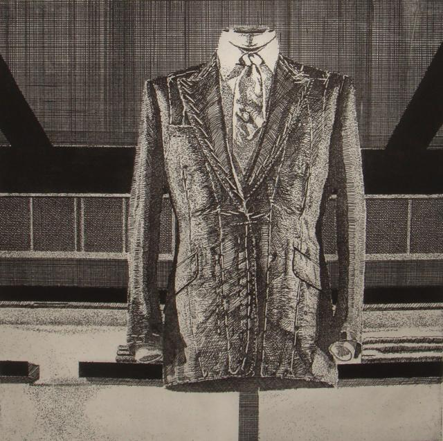 Savile Row I Etching by Osacr Whicheleo